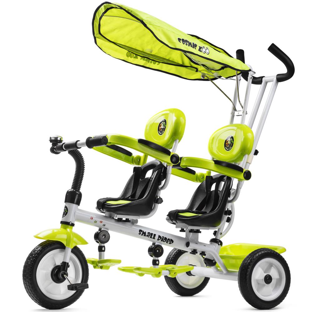Велосипед Small Rider Cosmic Zoo Twins Зеленый<br>