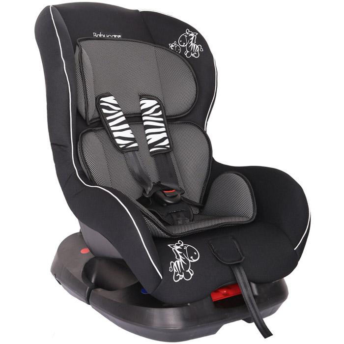 Автокресло Baby Care BC-303 Люкс Зебрик Карбон Серый<br>