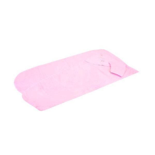 Полотенце-уголок Осьминожка с рукавичкой махровое Розовое<br>