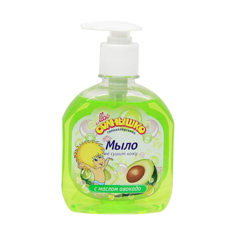 Мыло жидкое Моё солнышко с маслом авокадо 300 мл (дозатор)