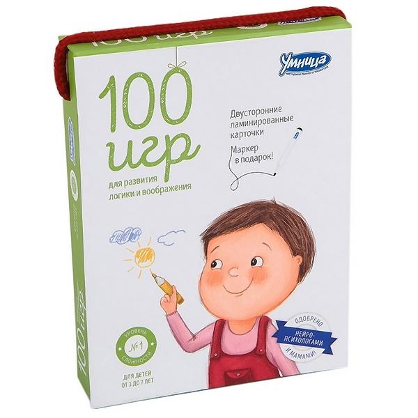 100 игр Умница Зеленый<br>
