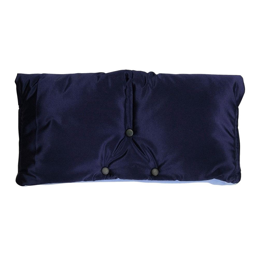 Муфта для коляски Чудо-Чадо флисовая (на липучке) Синий<br>