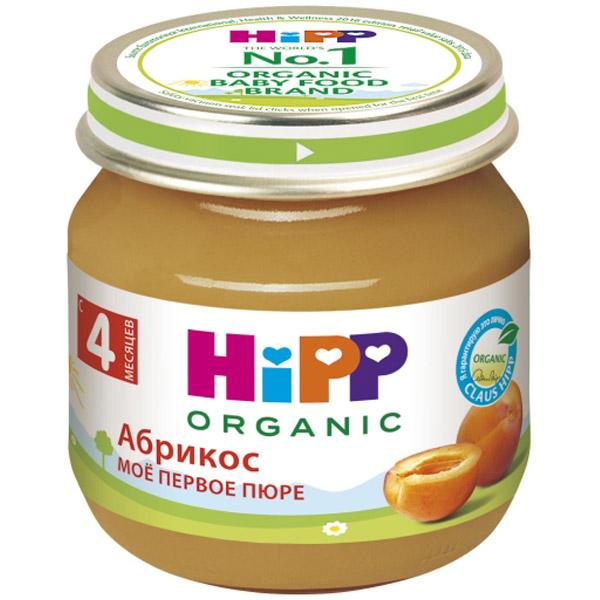 Пюре Hipp фруктовое 80 гр Абрикос (с 4 мес)<br>