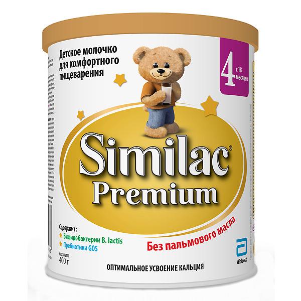 Заменитель Similac Премиум 400 гр № 4 (с 18 мес)<br>