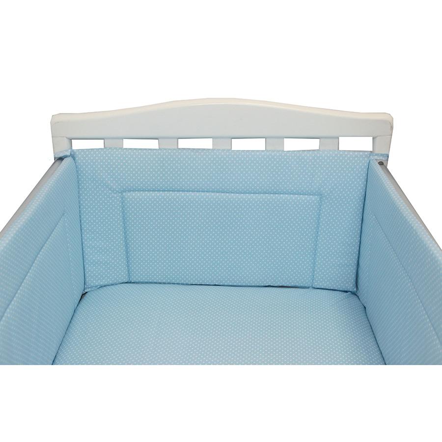 Бортик Bambola в кроватку Карамельки Голубой<br>