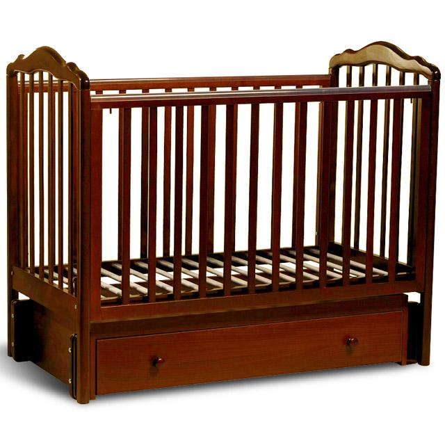Кроватка Sweet Baby Tesoro II Noce Орех<br>