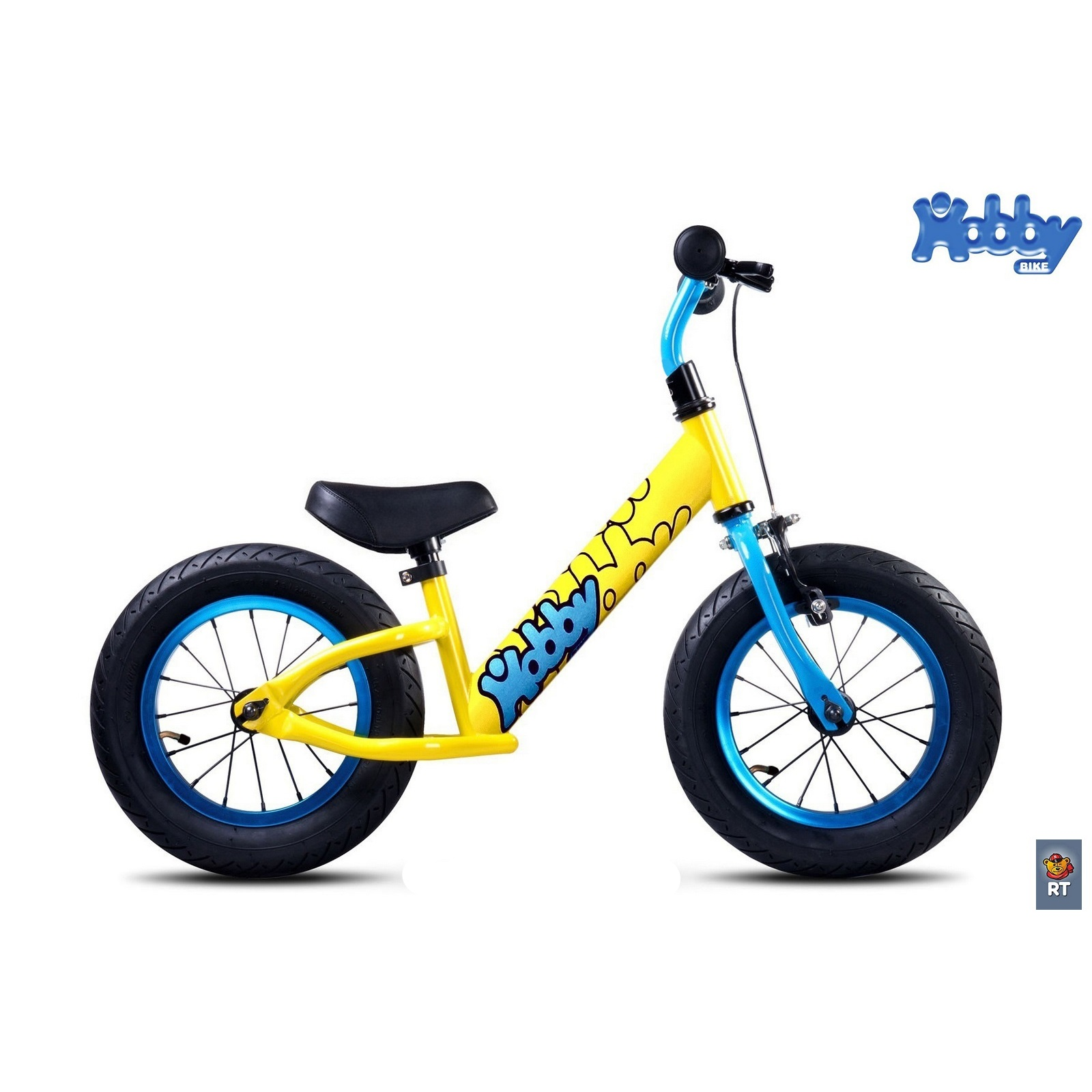 ������������ Hobby-bike Balance Forty Yellow Aluminium