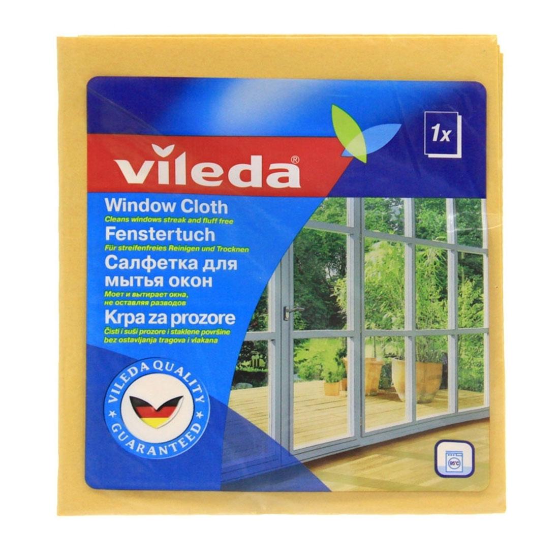 Салфетка Vileda для мытья окон<br>