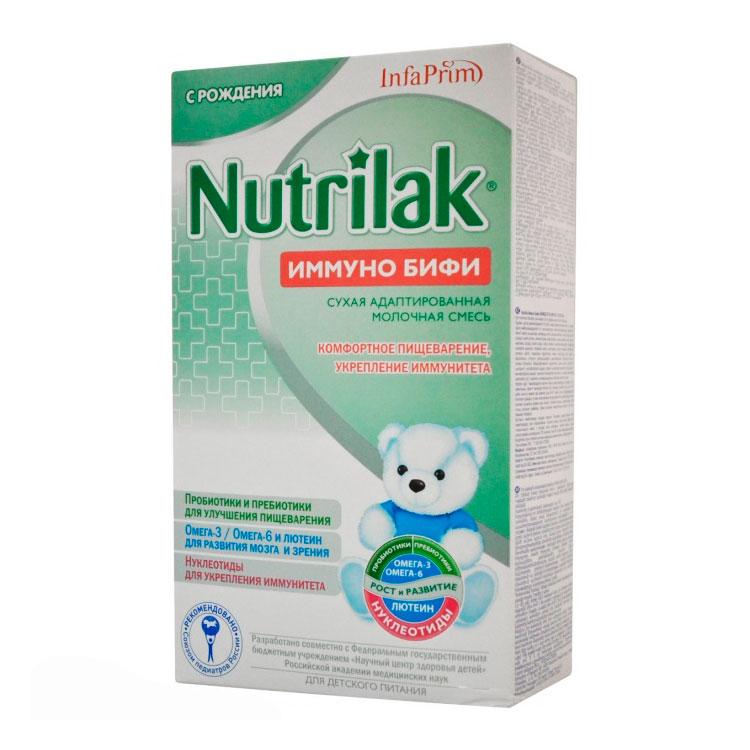 Заменитель Nutrilak Premium Иммуно Бифи 350 гр. с 0 мес от Младенец.ru