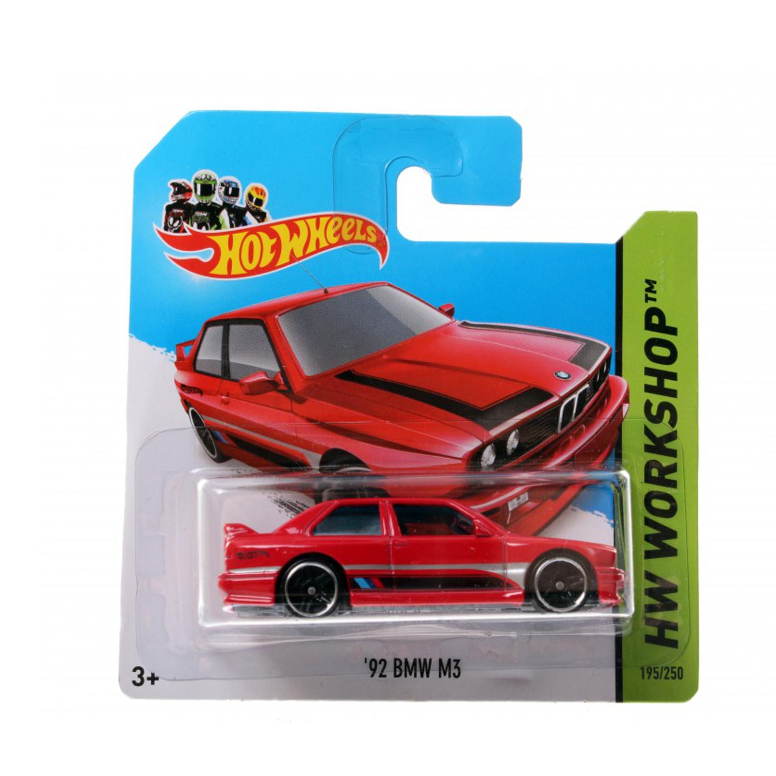Мотогонщики Hot Wheels для треков 92 BMW M3