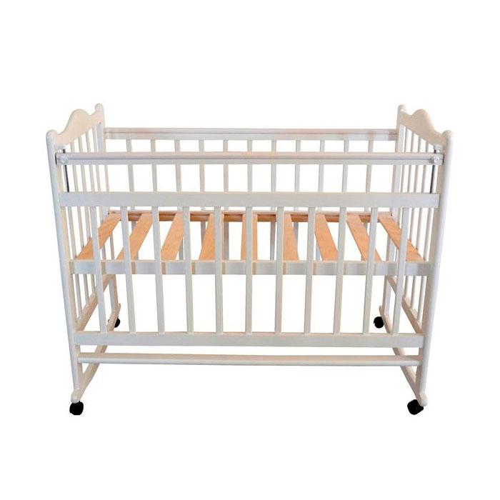 Кроватка Briciola 1 колесо-качалка Слоновая Кость<br>