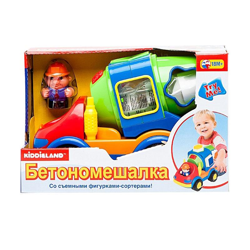 Развивающая игрушка Kiddieland Цементовоз - сортер<br>