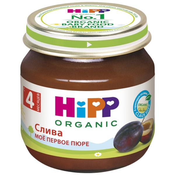 Пюре Hipp фруктовое 80 гр Слива (с 4 мес)<br>