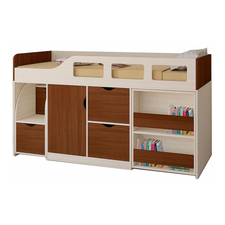 Набор мебели РВ-Мебель Астра 8 Дуб молочный/Орех<br>