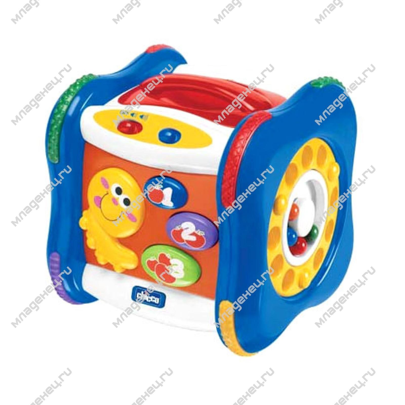 Развивающие игрушки Chicco Говорящий куб с 9 мес.