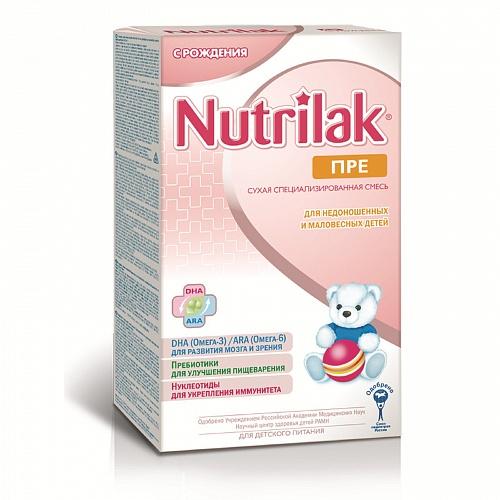Заменитель Nutrilak Пре 350 гр. с 0 мес.
