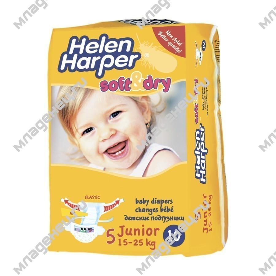 5a7ae434154c Подгузники Helen Harper Soft, ,Dry Junior 11-25 ,кг (10 шт). Цена  199р 169  (-15%)р. Купить в Младенец.ru