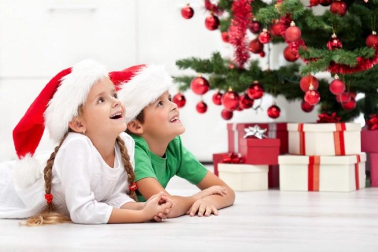 картинки детей к новому году