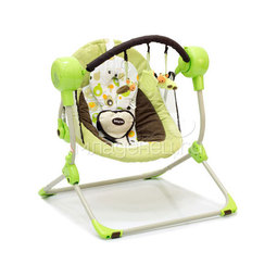 Электрокачели Baby Care Balancelle Green