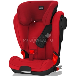Автокресло Britax Romer Kidfix II XP SICT Black Series Flame Red Trendline