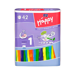 Подгузники Bella Baby Happy Newborn 2-5 кг (42 шт)