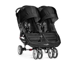 Коляска для двойни Baby Jogger City Mini Double Черная с серым
