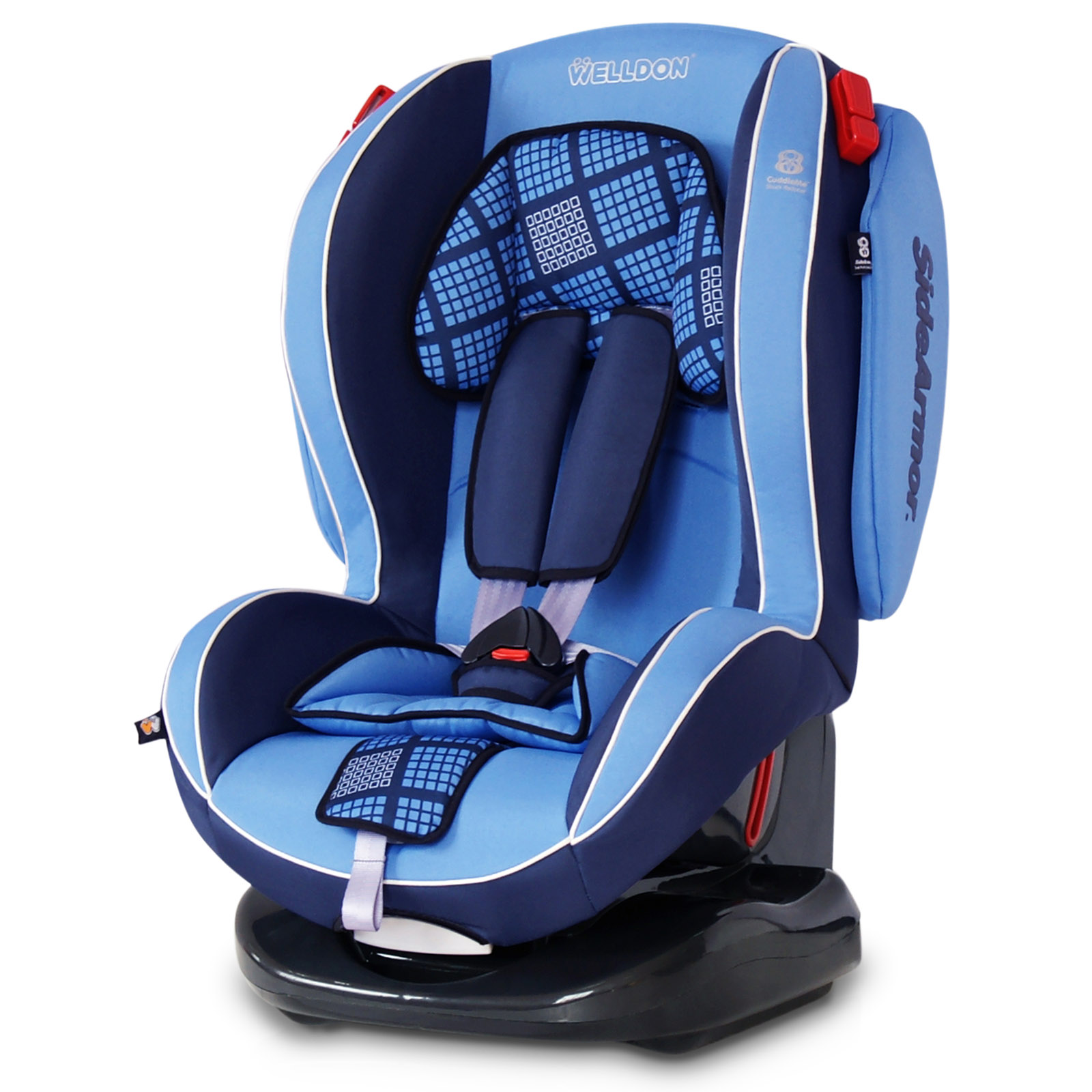 Автокресло Welldon Royal Baby Side Armor  Cuddle Me ISO-FIX Blue