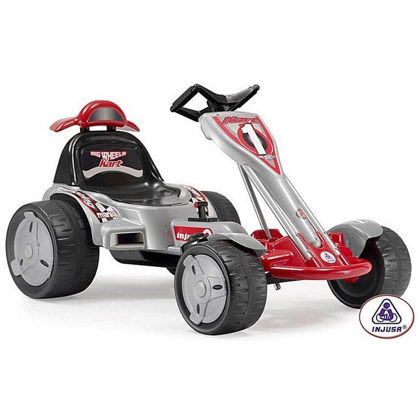 Гоночный карт Injusa Go-Kart Big Wheels 12V