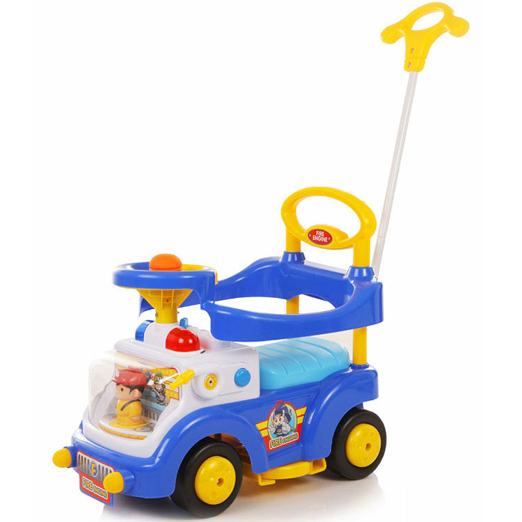 Фотография товара каталка Baby Care Fire Engine Синий (236601)