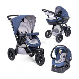 Коляска Chicco Activ3 Blue Passion