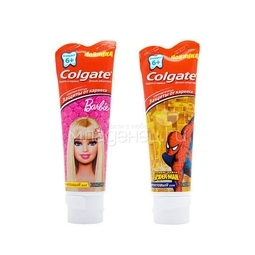 Зубная паста Colgate Barbie & Spiderman 6+ (75мл)