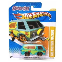 Мотогонщики Hot Wheels для треков The mystery machine