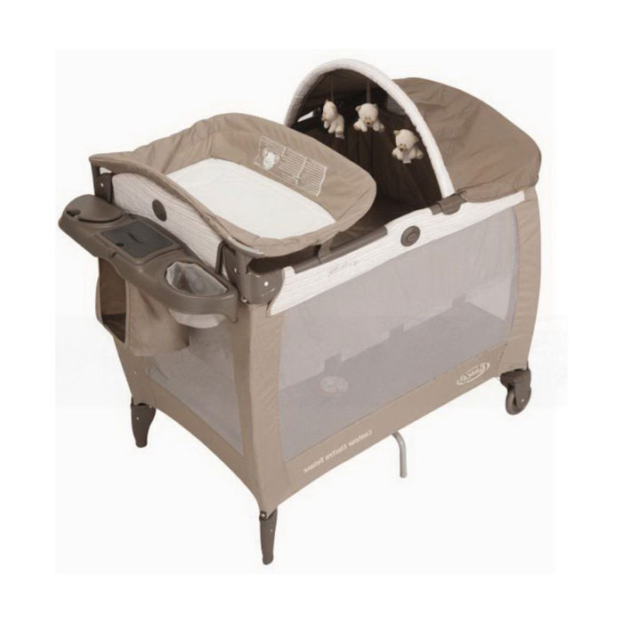 Манеж-кровать Graco Contour Electra Deluxe Bis For Bear