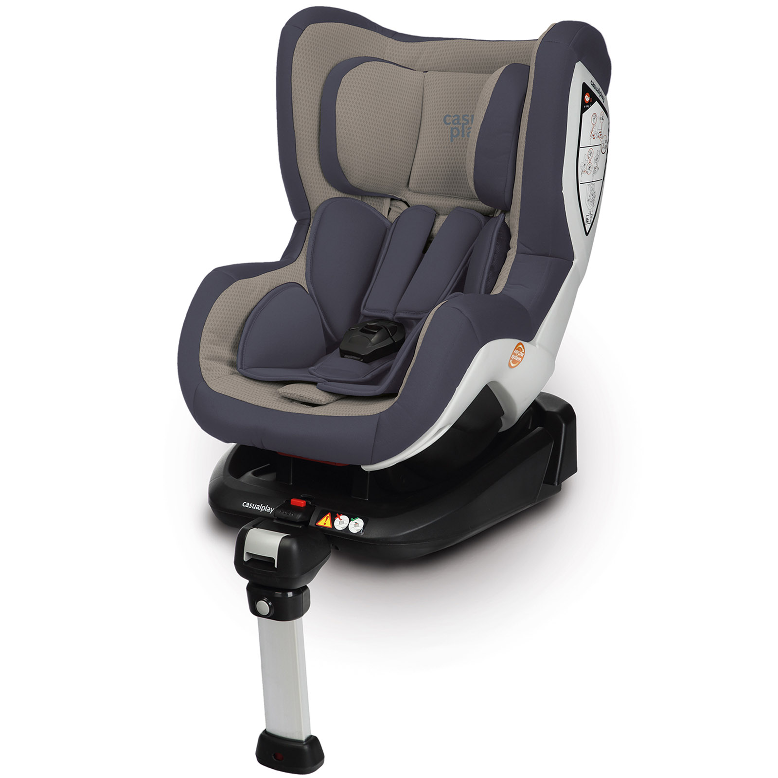 Автокресло Casualplay Bicare Fix с Isofix Moon Rock