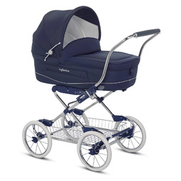 Коляска Inglesina Vittoria на шасси Comfort chrome/Blue AB10E1MAR + AE10G1000