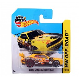 Мотогонщики Hot Wheels для треков Dodge Challenger Drift Car