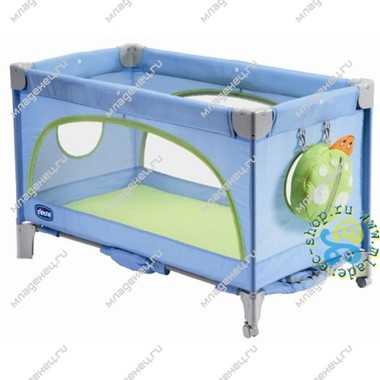 Манеж-кровать Chicco Bye-Byes Light Blue 0