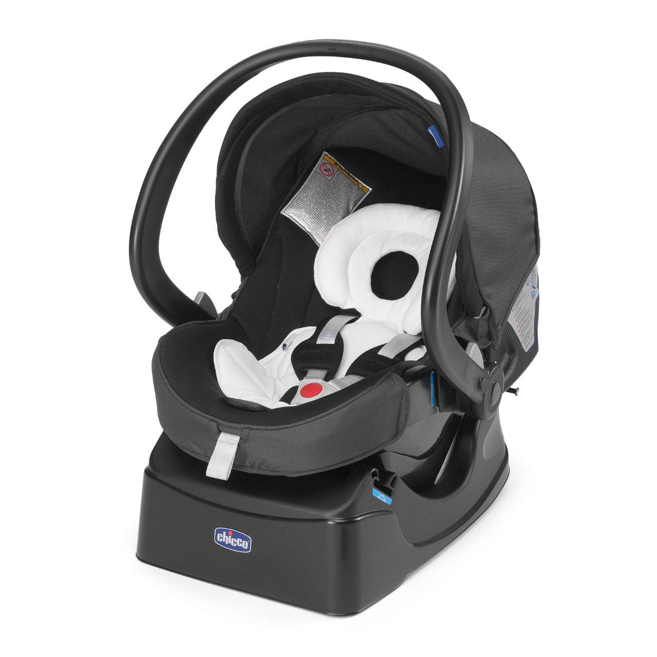 Автокресло Сhicco Auto-Fix Fast Baby Anthracite (Chicco)