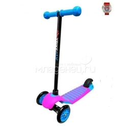 Самокат Y-Bike Glider de luxe mini NEW Pink Blue