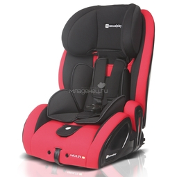 Автокресло Casualplay Multifix с Isofix Red Hot