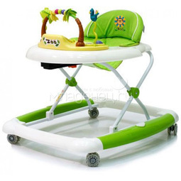 Ходунки Baby Care Zoo Green