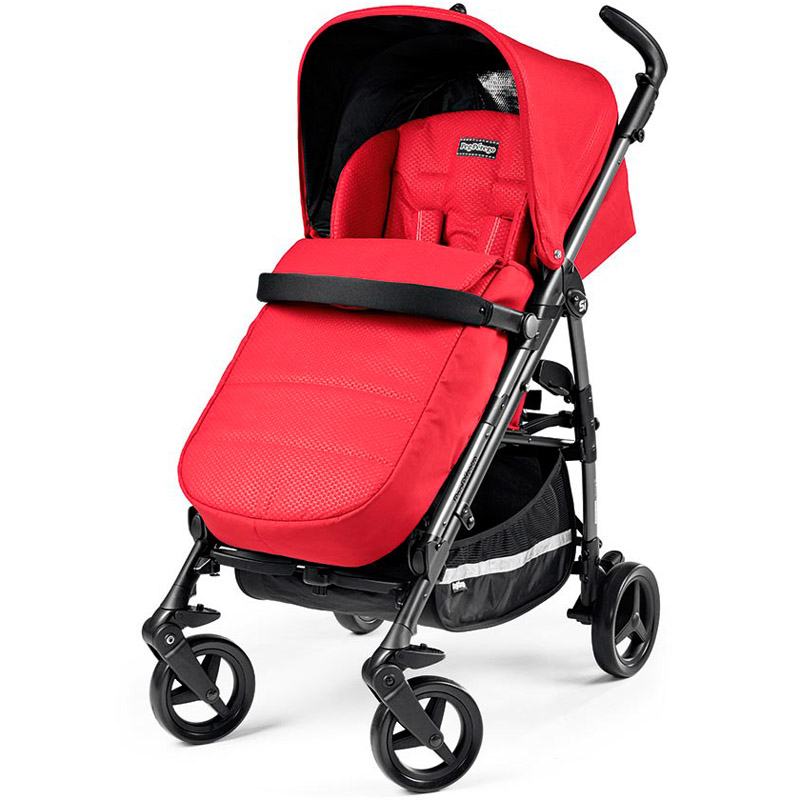 Коляска прогулочная Peg-Perego Si Completo Red (Peg Perego)