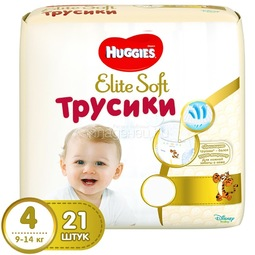 Трусики Huggies Elite Soft 9-14кг 21 шт