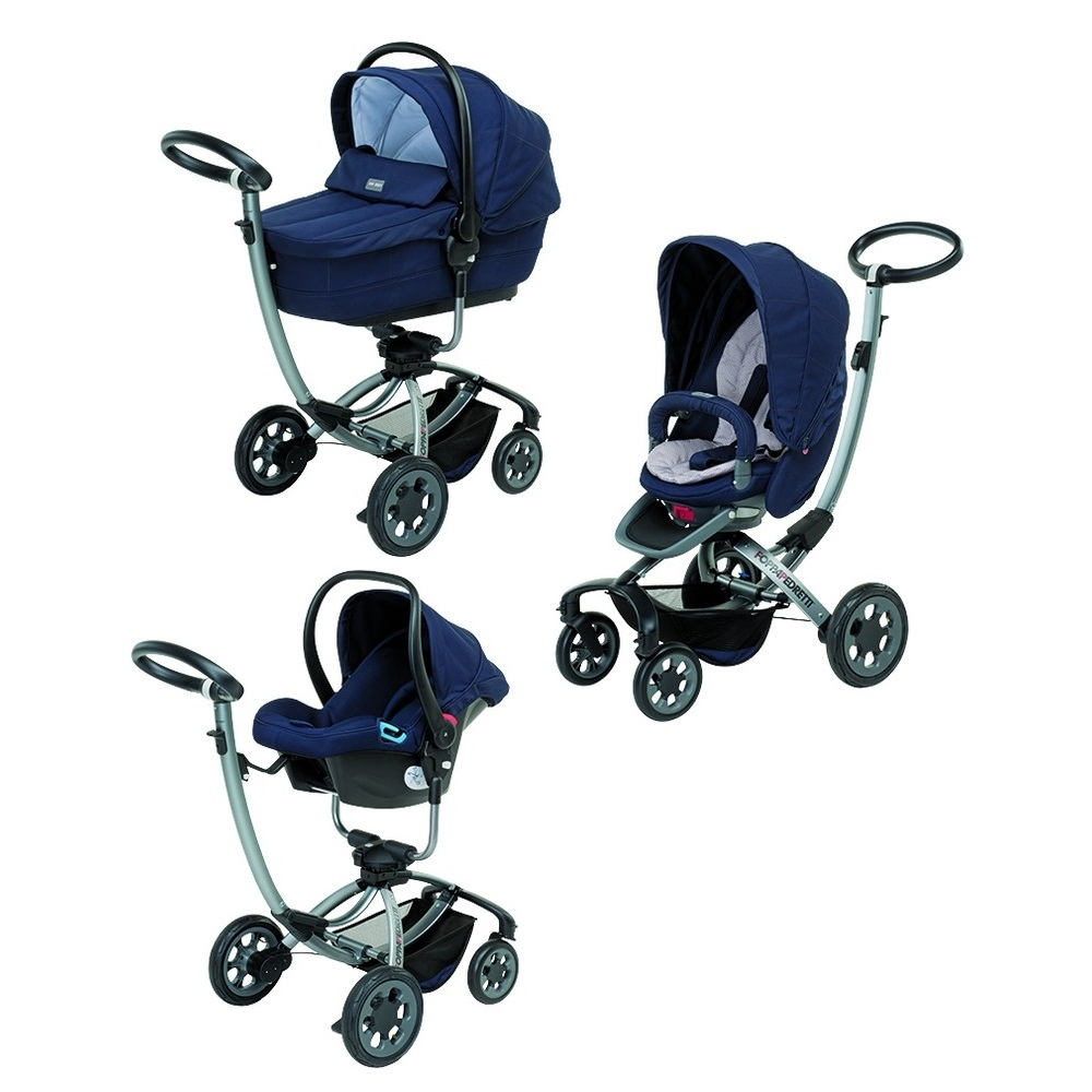 Коляска 3 в 1 Foppapedretti Myo Travel System Bluesky