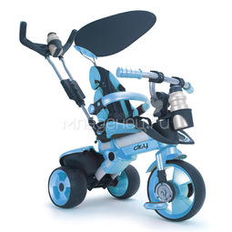 Велосипед Injusa City Trike Aluminium Blue