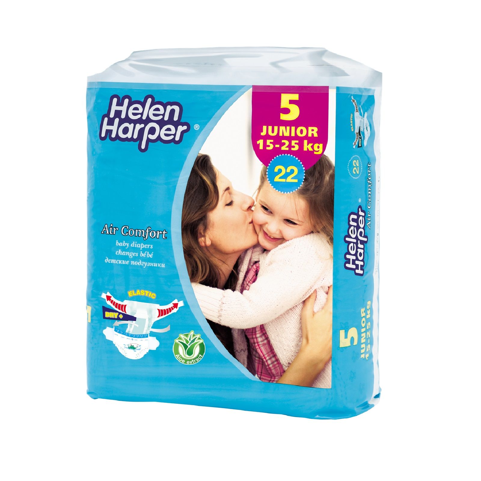 Подгузники Helen Harper Air Comfort Junior 15-25 кг (22 шт) от Младенец.ru