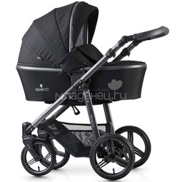 Коляска 2в1 Venicci Carbo Black