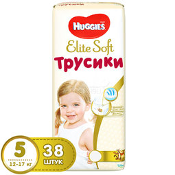 Трусики Huggies Elite Soft 12-17кг 38 шт