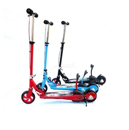 Самокат Y-Scoo 188 Push scooter Red