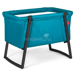 Колыбель Babyhome Dream Premium Turquoise Black